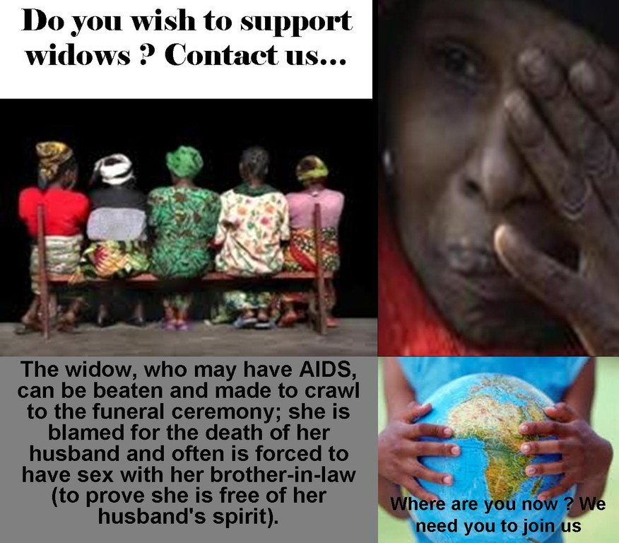 Please Help the widows