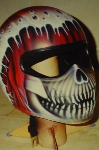 Airbrush Helm 9