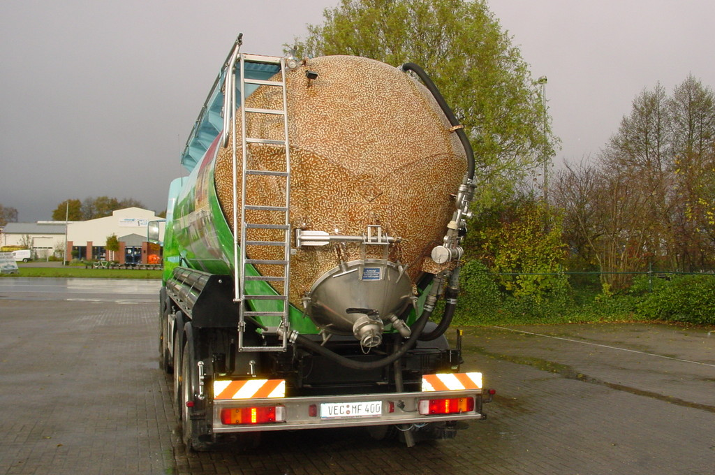 Airbrush Truck Pellets Rückseite