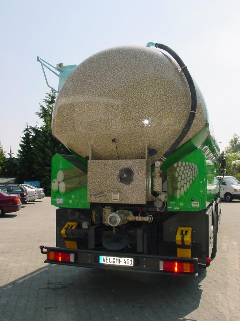 "Airbrush Truck ""Pellets 2"" Rückseite"