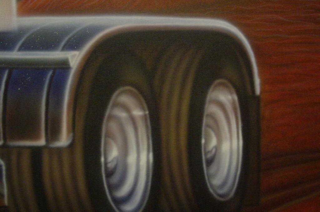 """Airbrush """"Entstehung eines Wandbildes"""" Detail"""