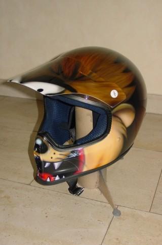 Airbrush Helm 3