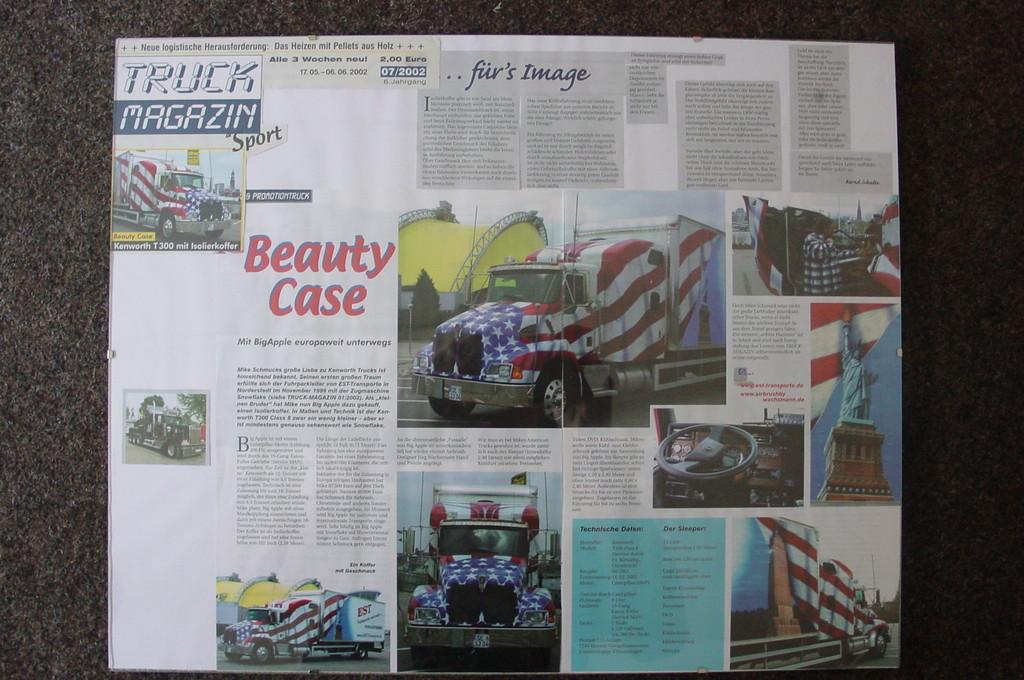 Truck Magazin    6.Juni.2002