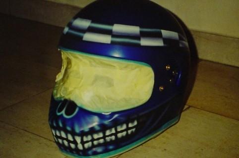 Airbrush Helm 4