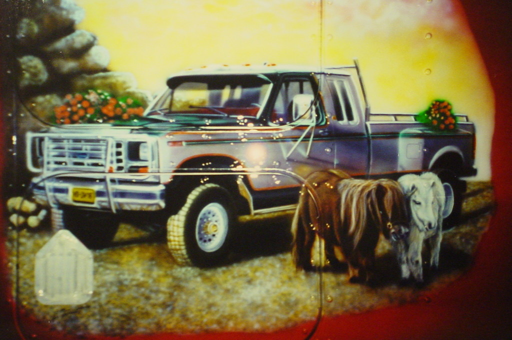 """Airbrush Truck """"Pferde"""""""