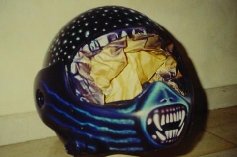 Airbrush Helm 6