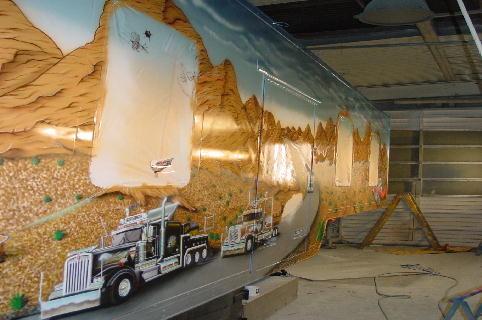 "Airbrush Truck ""Western"""