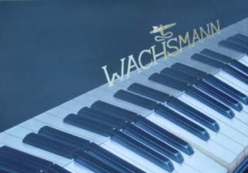 "Airbrush Wandbild ""Klavier"""