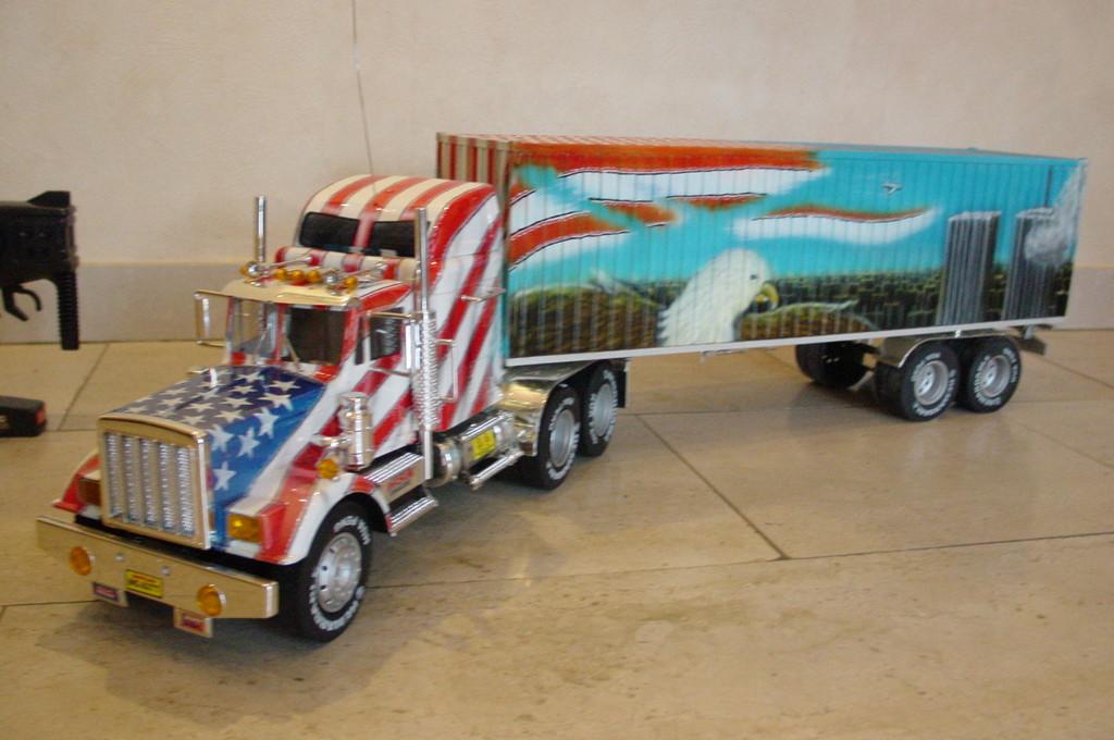 Airbrush US Truck Modell