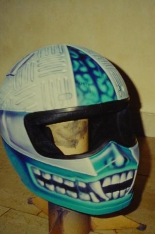 Airbrush Helm 10