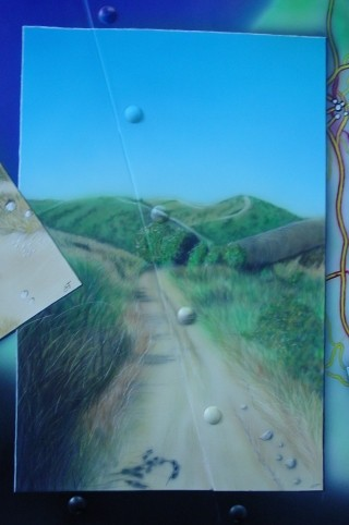 """Airbrush Truck """"Camino"""" Detail"""