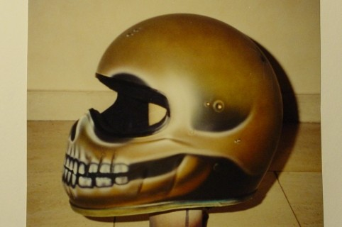 Airbrush Helm 8