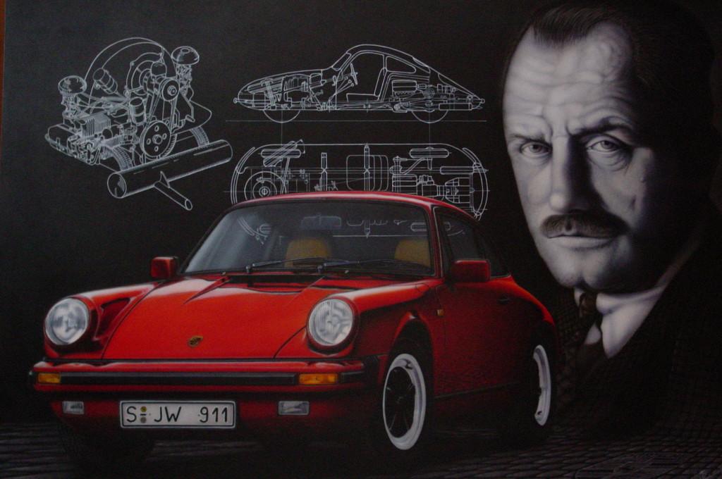 """Wandbild """"Porsche"""""""