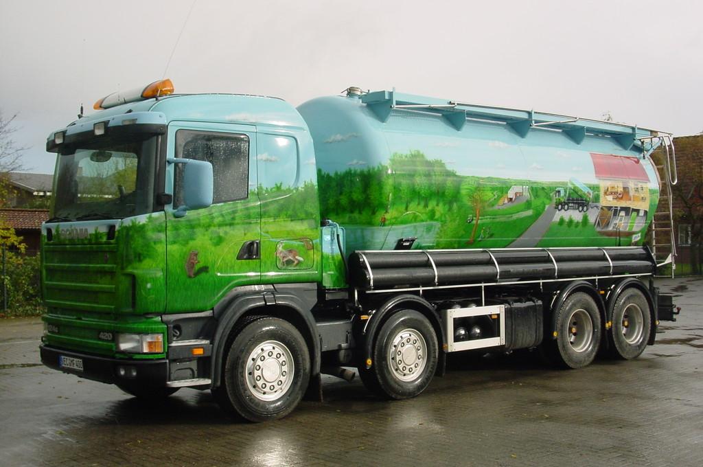 Airbrush Truck Pellets