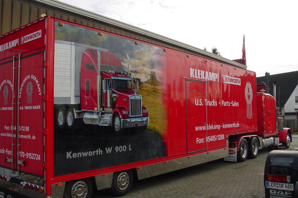 "Airbrush Truck ""Klekamp Trailer"""