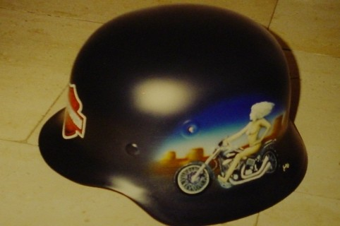 Airbrush Helm 7