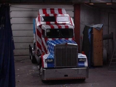 """Airbrush Truck """"Snowflake"""""""