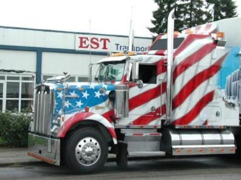 "Airbrush Truck ""Big Apple"""