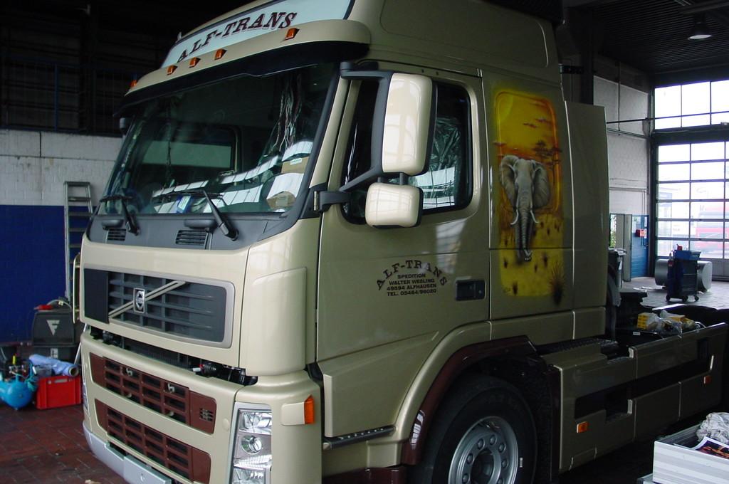 """Airbrush Truck """"Afrika"""""""