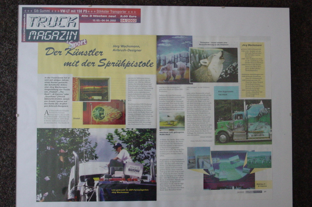 Truck Magazin    4.Apr.2002