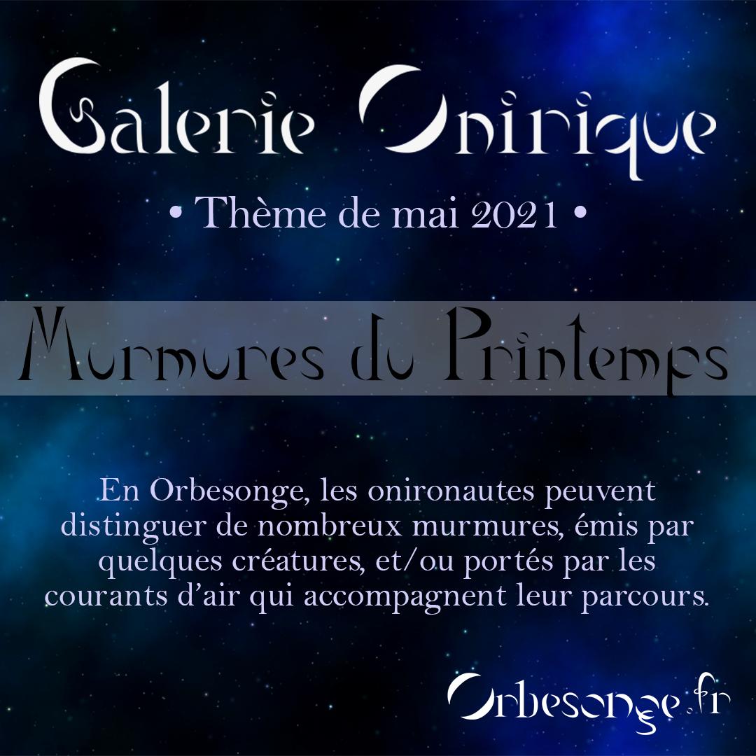 Participations à la Galerie onirique - Mai 2021