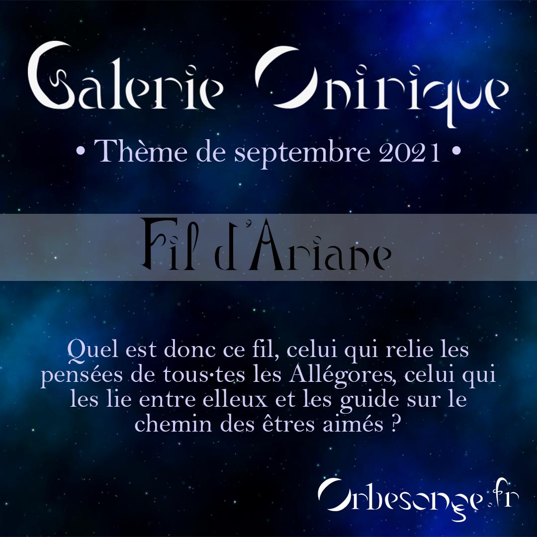 Participations à la Galerie onirique - Septembre 2021