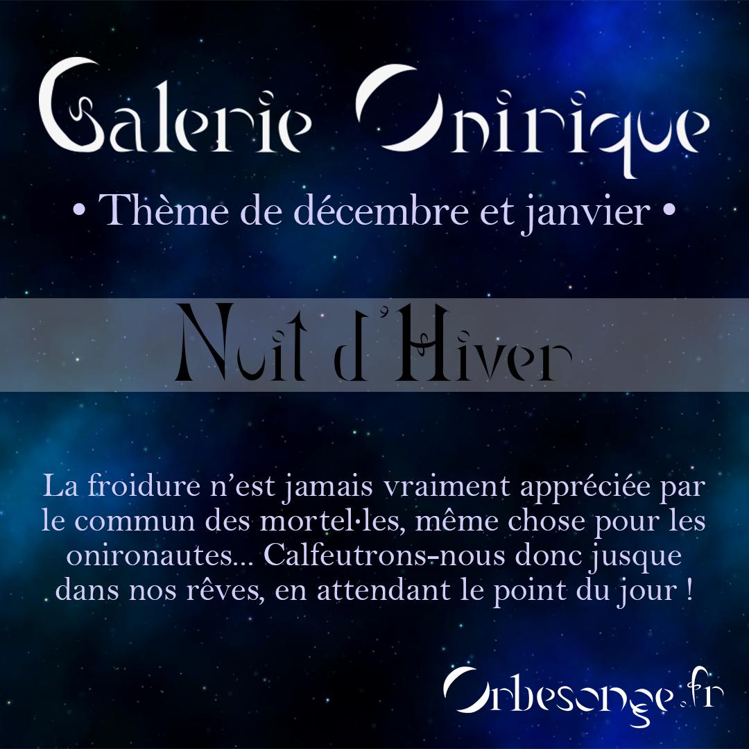 Création libre de décembre-janvier 2021 : Nuit d'Hiver
