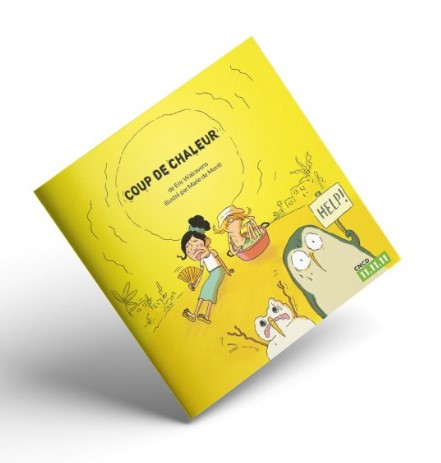 Le livre illustré du CNCD-11.11.11 pour des enfants de 6 à 10 ans sur les changements climatiques.