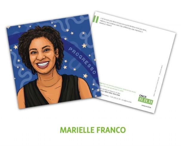 Des cartes postales illustrées par l'artiste Nadia Akingbule représentant des femmes inspirantes. Les cartes comprennent des citations et des informations sur chaque femme présentée.