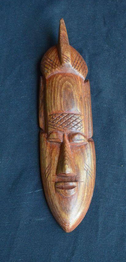 masque africain du senegal