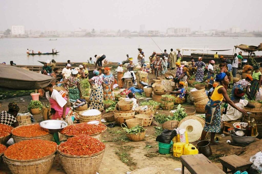 Marché Dantokpa - Cotonou Bénin