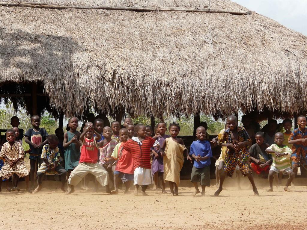 Ecole au village de Zogbodomey