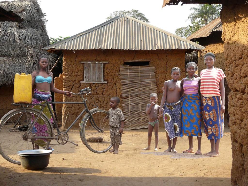 Enfants du village de Zogbodomey