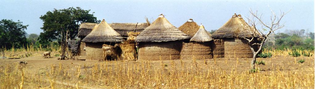 Tata Somba (habitations au nord du Bénin)