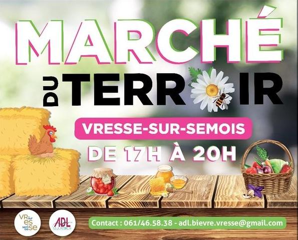 Le SI au marché du terroir de Vresse-sur-Semois..
