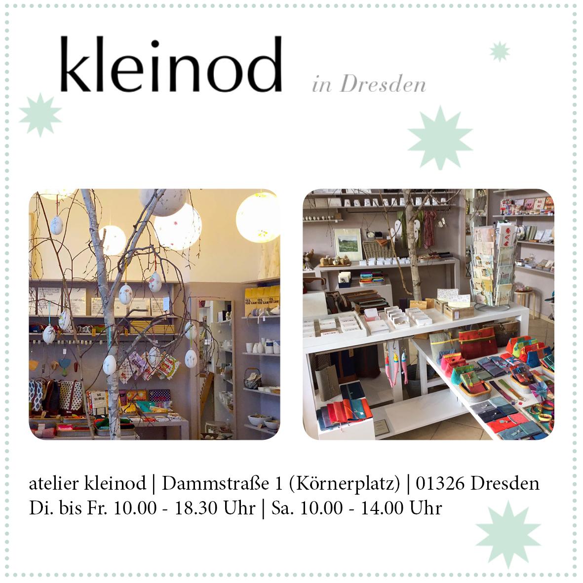 """Ausstellung Atelier """"Kleinod"""" in Dresden"""