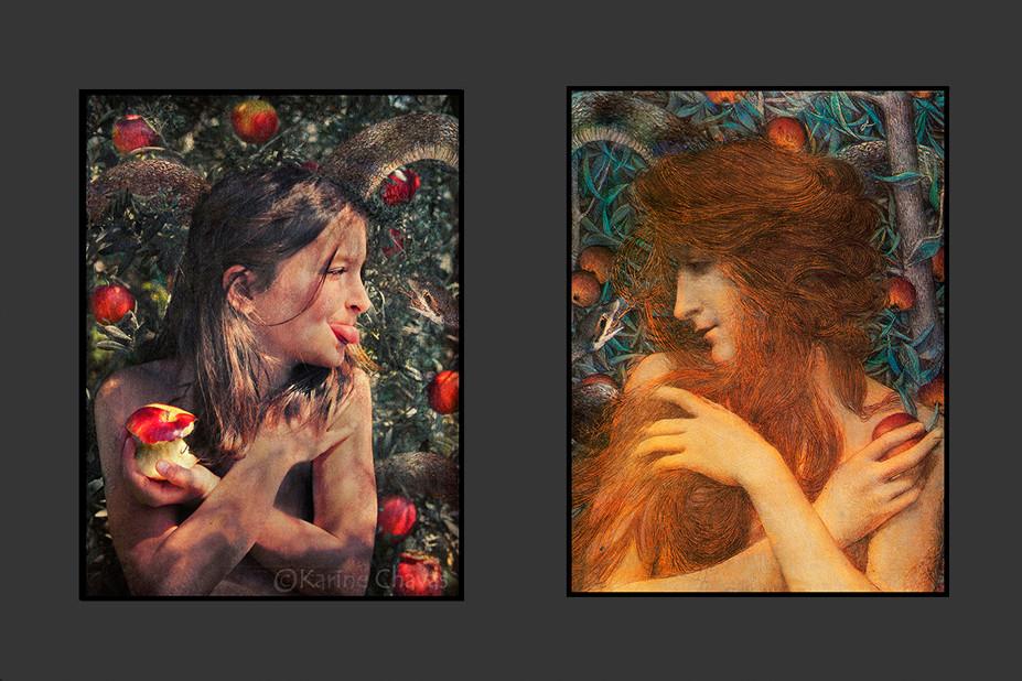 Eve - Tableau de Rossetti/version décalée
