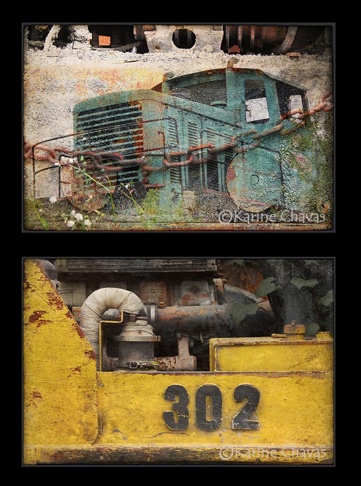 """Série """"Autour des mines de Gardanne"""""""