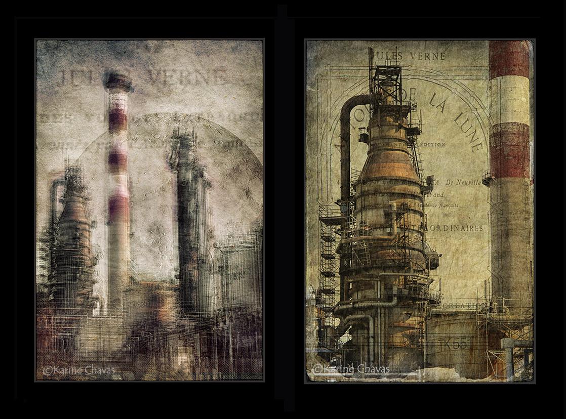 """Série """"Rivages Industriels"""""""