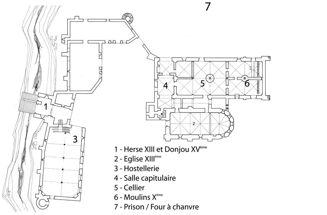 Plan de la Corroierie - Montrésor