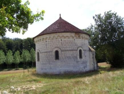 Chapelle Saint Jean du Liget : fresques
