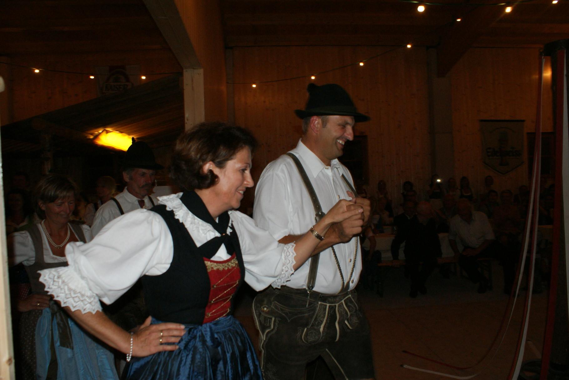 Ehemalige Mitglieder des HV Kuchl - Heimatabend im Rahmen unseres 60-jährigen Bestandsjubiläum