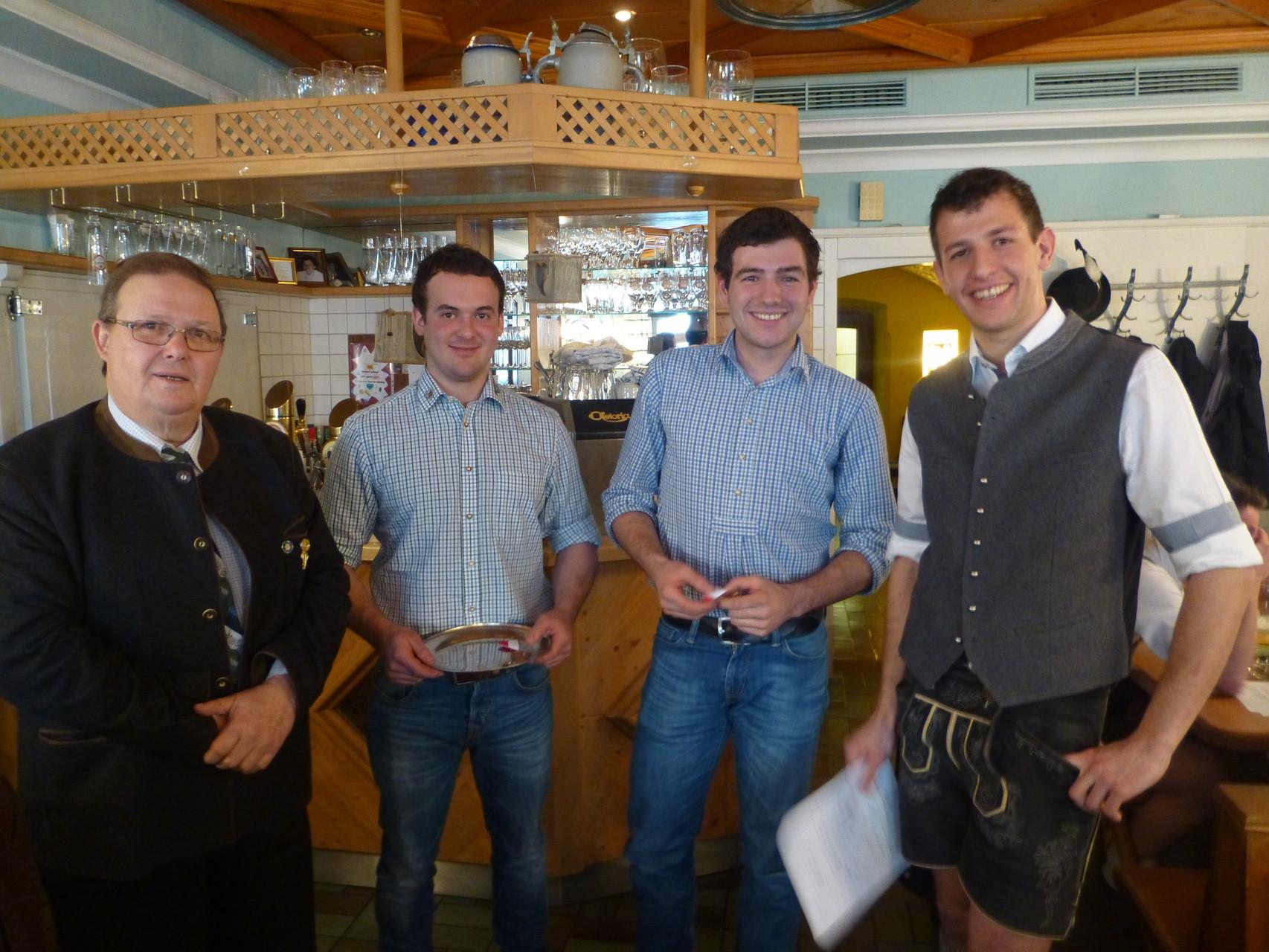 Neureiter Michael - Ehrung LVHV Salzburg in Bronze (10 Jahre Mitgliedschaft)
