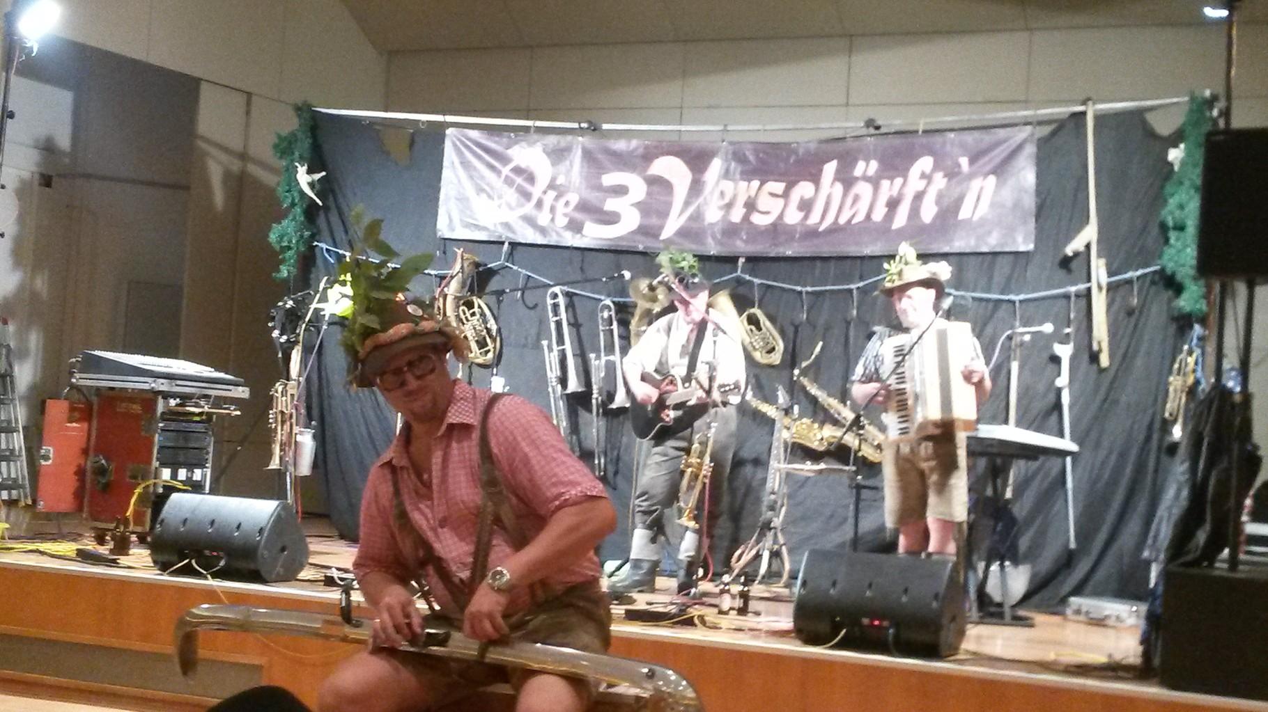 Die 3 Verschärft'n beim Mitarbeiter-Dankesfest der Salzburger Seniorenheime