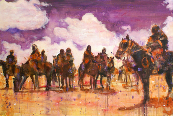 Pack 130x170 cm Oil/Canvas 2008