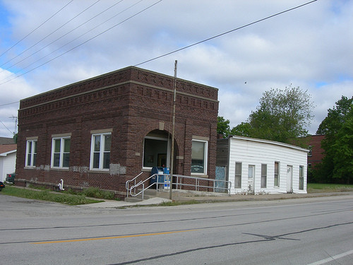 Post office in Adair, IL