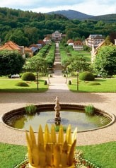 Schlosspark - Kurgarten: Quelle: Staatl. Kurverwaltung Bad Brückenau
