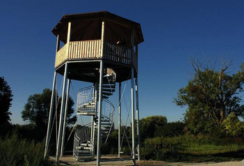 Beobachtungsturm bei Unterbrunn