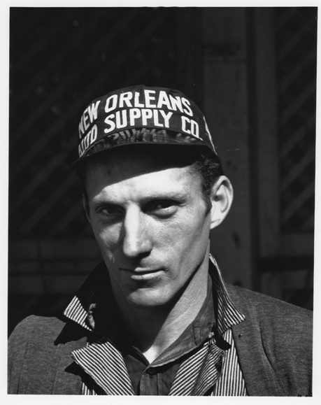 © Walker Evans, New Orleans´ Garage Mechanic, Louisana, März 1936, LC-USF 342 TOI 8075