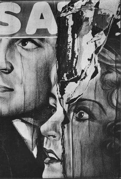 © Walker Evans, Torn Movie Poster, 1930, LC